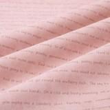 Tela Japonesa Tramada Rosa Escritura