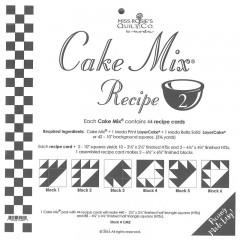 Plantillas Cake Mix Recipe 2