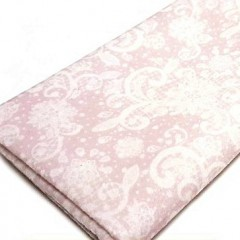 Lámina Fieltro Rosa Estampado