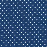 Tela Franela Azul Marino Puntos