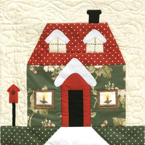 Patr n holly lane mi casita de patch tienda de patchwork - Casitas de patchwork patrones ...