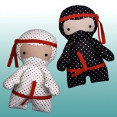 Pattern Little Ninjas