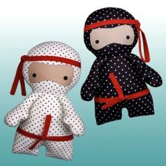 Patrón Little Ninjas