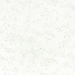 Tela Blanca Dientes de León Perla