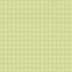 Tela Verde Geométrica Puntos