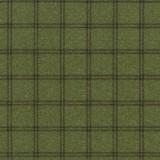Tela Franela Verde Cuadros