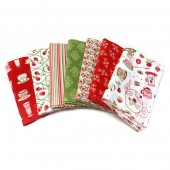 Lote de Telas Living Lovely - 7 Fat Quarters*