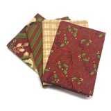 Lote de Telas Delightful December - 4 Fat Quarters