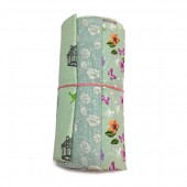Rollo de Telas Verde Teal - 3 Fat Quarters
