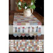 Pattern Tiny Town Table Runner