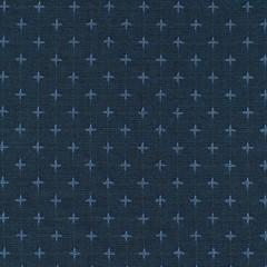 Tela Azul Vaquero Puntadas