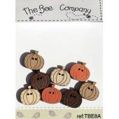 Mini Pumpkins Buttons