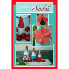 Patrón Jumbleberry Santas